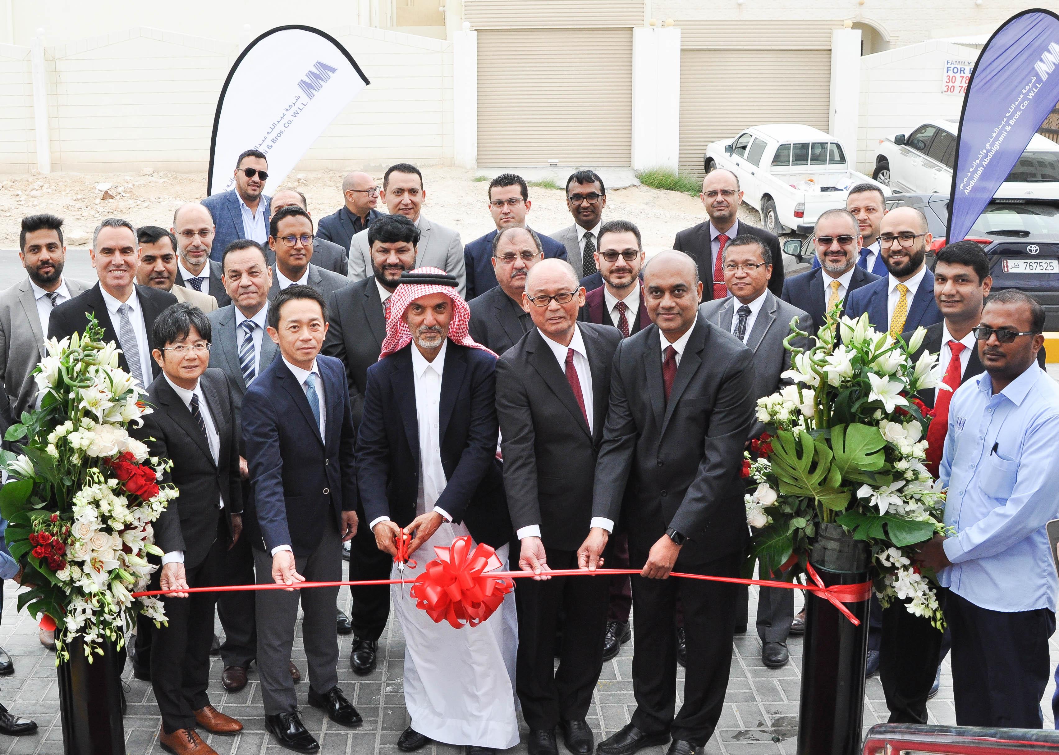 شركة عبدالله عبدالغني وإخوانه تفتتح مركز الخور للخدمة السريعة
