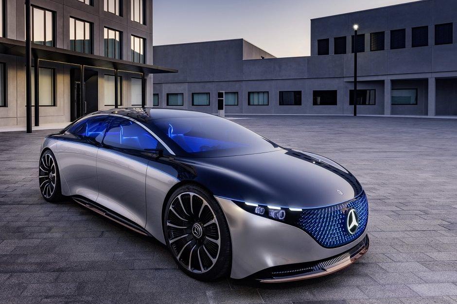 سيارة مهيبة من مرسيدس تدعى Vision EQS